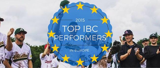 International Baseball Community Top Performers of the 2015 European Season