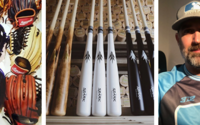 "2019 BBJO ""Ambassador of the Game"" Giveaway featuring a free custom glove and bat"