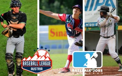 Baseball Jobs Overseas members update: Austria