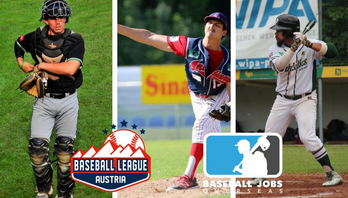 Baseball Jobs Overseas members update: Austria