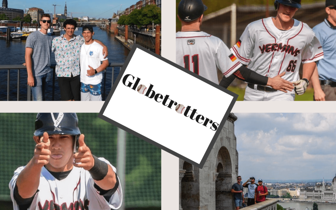Baseball Globetrotters – Patrick Cromwell (Clemson) & Evyn Yamaguchi (Mayville) play in Germany