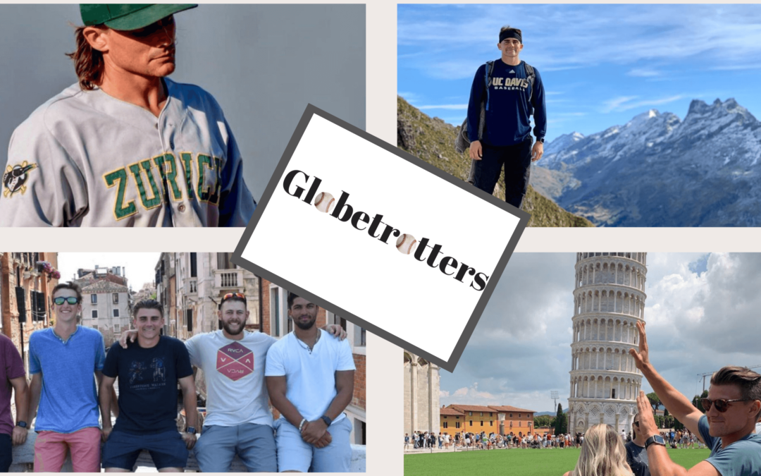 Baseball Globetrotters – Ryan Hooper (UC Davis) in Switzerland