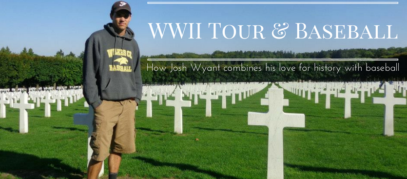 IBC E66: He was told to pursue running instead of baseball. Now this history buff enjoys WWII tours while playing baseball in Europe