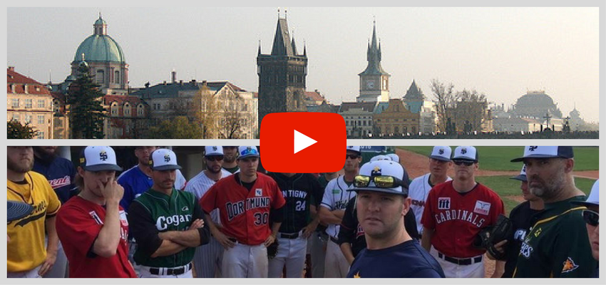 Video: International Stars @ Prague Baseball Week 2016