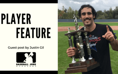 Guest post: From a baseball career dead end to an experience of a lifetime
