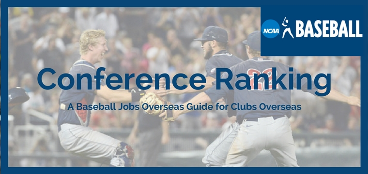 NCAA Conference Ranking – A Benchmark for evaluating skill level