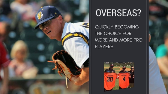 Baseball overseas is a better option for pro's than you may think
