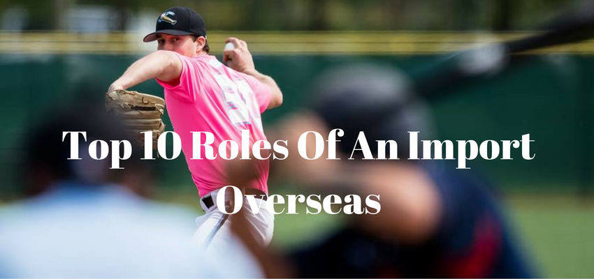 Top 10 Ranking of Roles Clubs Overseas are Seeking to Fill with an Import