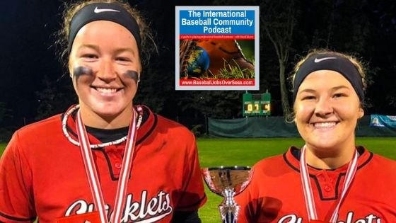 IBC E80: Two softball power hitters meet in Austria as imports and lead their team to the championship
