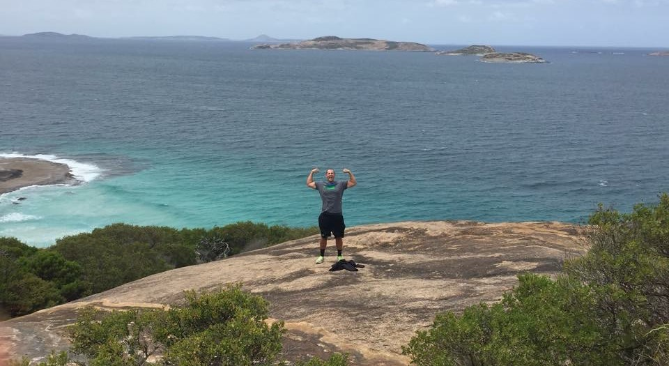 IBC Coach Leaves his mark 11,500 miles away from home
