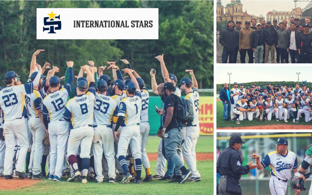 VIDEO: International Stars featuring 28 BBJO members at Prague Baseball Week